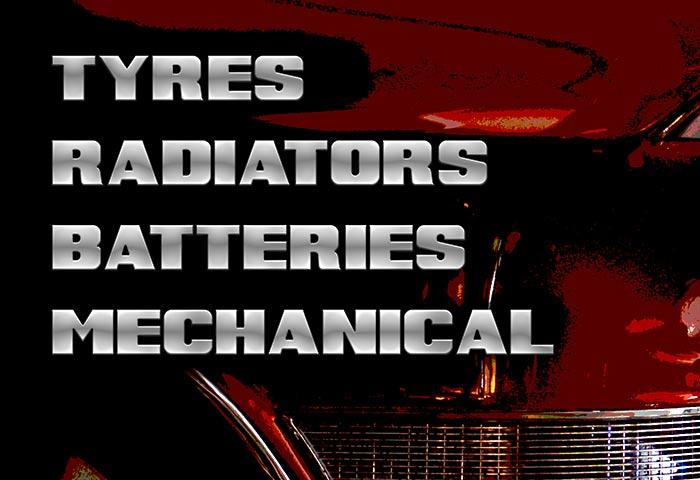 tyres radiators